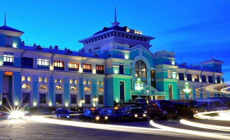 Реконструкция жд вокзала Омск