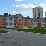 Кирпичная кладка детского сада в Омске на Ватутина