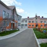 Кирпичная кладка детского сада на Ватутина