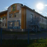 Кирпичная кладка детского сада на Светловской