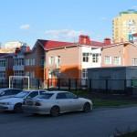 Кирпичная кладка детского сада на Туполева в Омске