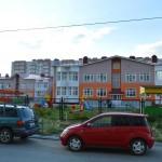 Строительство детского сада на Туполева