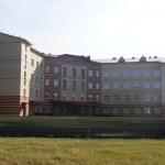 Кирпичная кладка больницы в Азово