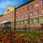 Кирпичная кладка школы Называевск