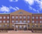 Кирпичная кладка школы в Омской области