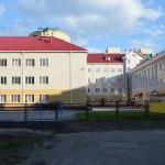 Строительство школы в Омске