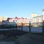Строительство школы в Омске на Туполева