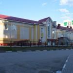Кирпичная кладка школы в Омске