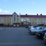 Кирпичная кладка школы на Туполева