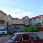 Кирпичная кладка школы на Туполевой в Омске