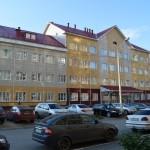 Кирпичная кладка школы в Омске на Туполевой