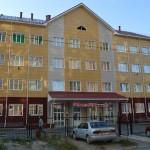 Кирпичная кладка новой школы в Омске