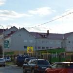 Кирпичная кладка новой школы на Туполева